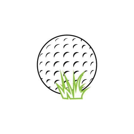 Golf icon graphic design template Illustration
