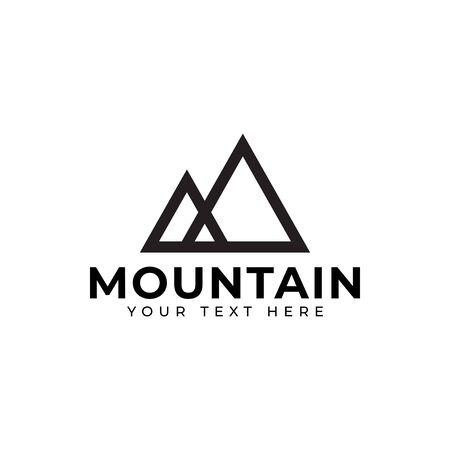 Mountain logo design template vector isolated illustration Logo