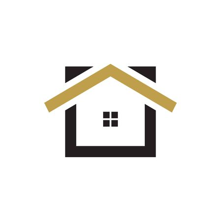 Real estate house graphic design template vector Ilustrace