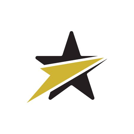 Star graphic design template vector isolated illustration