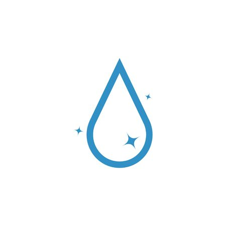 Droplet graphic design template vector isolated illustration