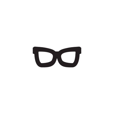 Glasses graphic design template vector isolated illustration Vettoriali