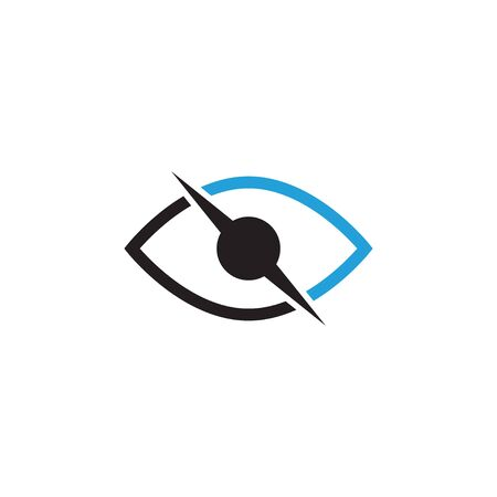 Abstract eye graphic design template vector isolated 写真素材 - 129988239