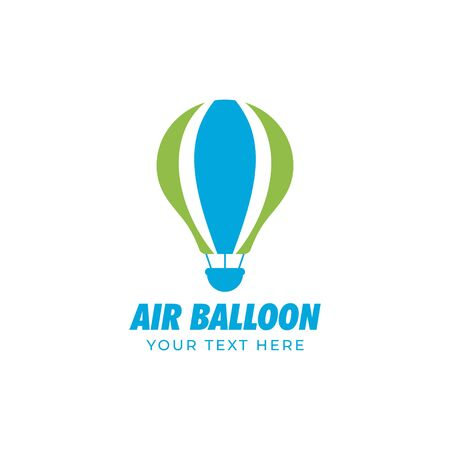 Air balloon graphic design template vector isolated