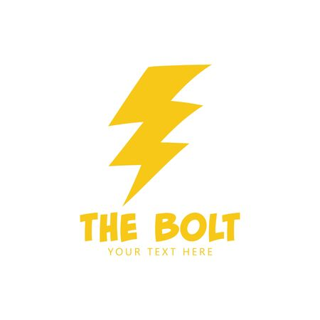 Bolt graphic design template vector isolated illustration