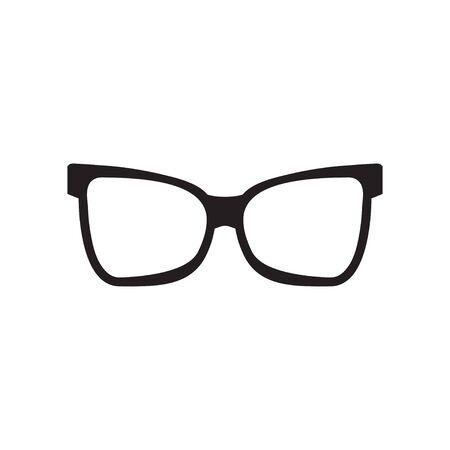 Glasses graphic design template vector isolated illustration Иллюстрация