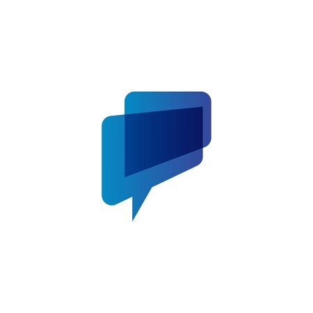Chat graphic design template vector isolated illustration Stok Fotoğraf - 129989869