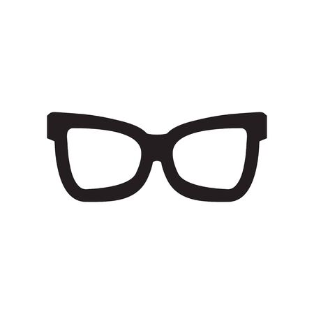 Glasses graphic design template vector isolated illustration