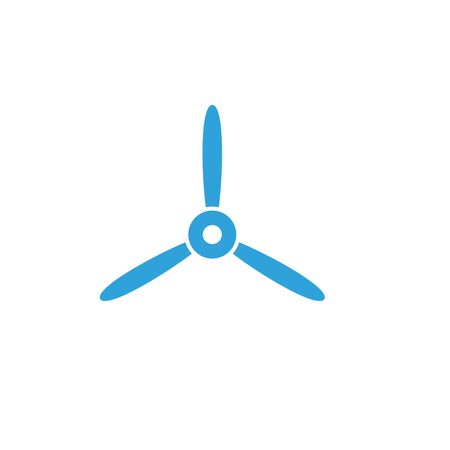 Propeller graphic design template