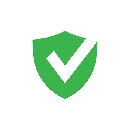 Check mark icon graphic design template vector isolated