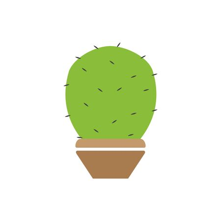 Cactus plant graphic design template vector isolated
