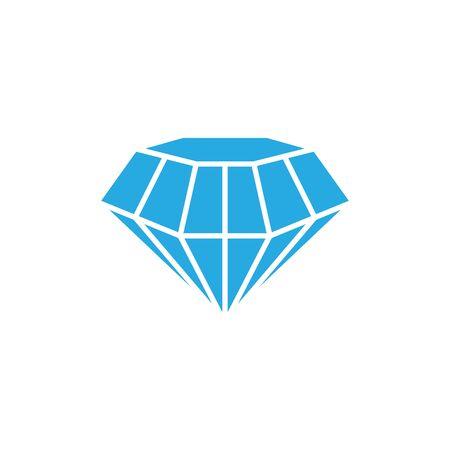 Diamond precious gem graphic deisgn template vector