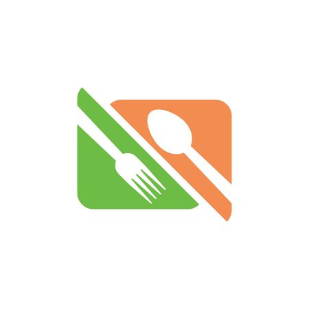 Restaurant graphic design template vector isolated  イラスト・ベクター素材