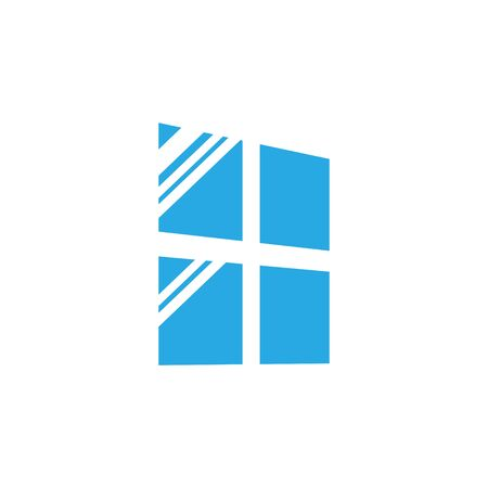 Window icon graphic design template vector isolated