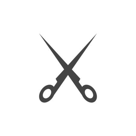 Scissors graphic design template vector isolated illustration