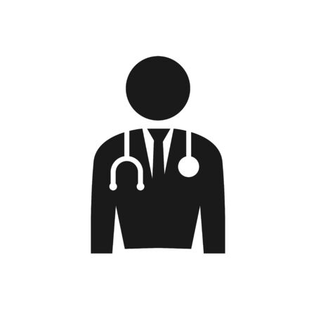 Doctor graphic design template vector isolated