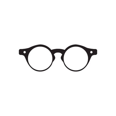 Glasses graphic design template vector isolated 向量圖像