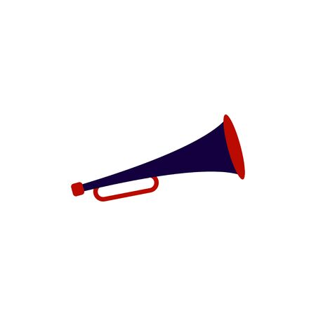 Trumpet graphic design template vector isolated illustration Ilustrace