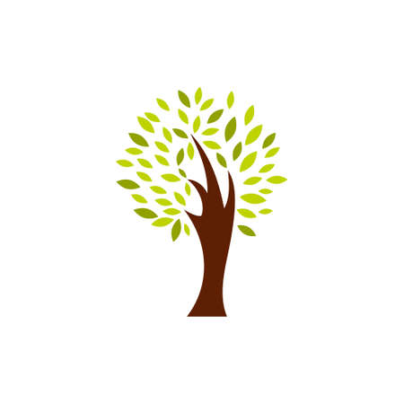 Tree icon design template vector isolated illustration