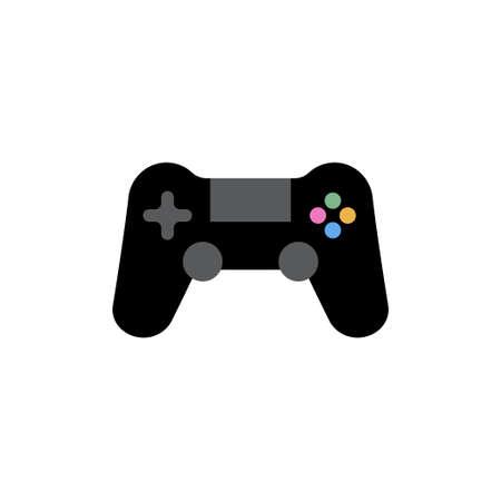 Joystick icon design template vector isolated Illustration