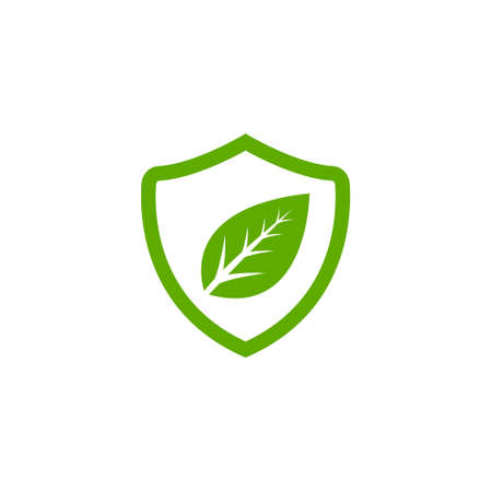 Save environment icon logo design template vector isolated