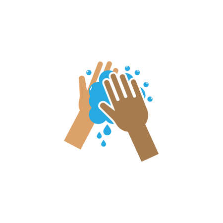 Handwash icon design template vector isolated illustration