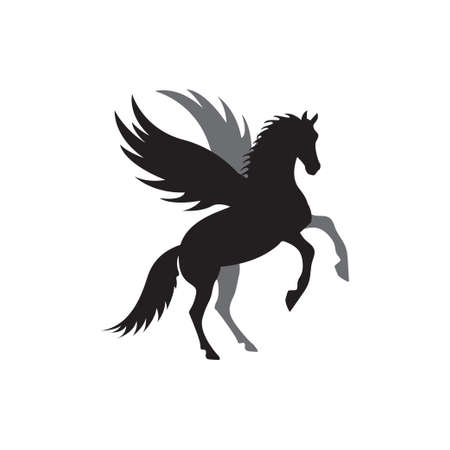 Unicorn icon design template vector isolated illustration