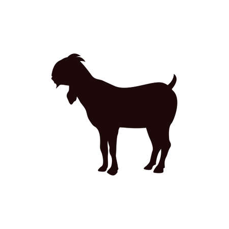 Goat icon design template vector isolated illustration Zdjęcie Seryjne - 161247092