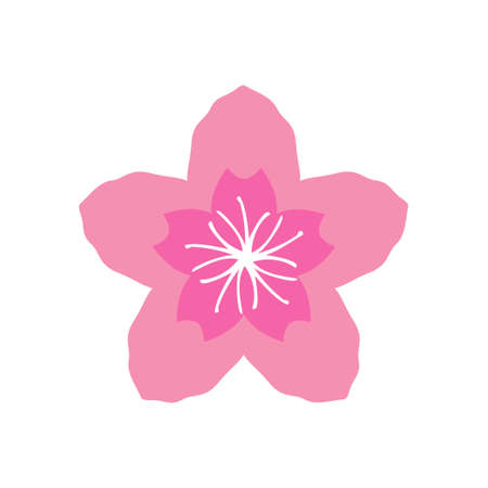 Sakura icon design template vector isolated illustration Zdjęcie Seryjne - 161247357