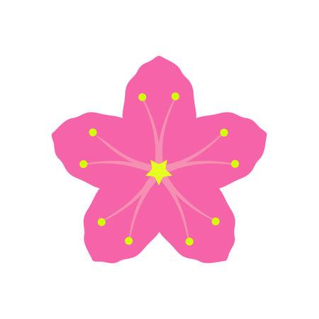 Sakura icon design template vector isolated illustration Zdjęcie Seryjne - 161247358