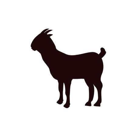 Goat icon design template vector isolated illustration Zdjęcie Seryjne - 161247359