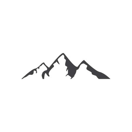 Mountain icon design template vector isolated illustration Zdjęcie Seryjne - 161247506