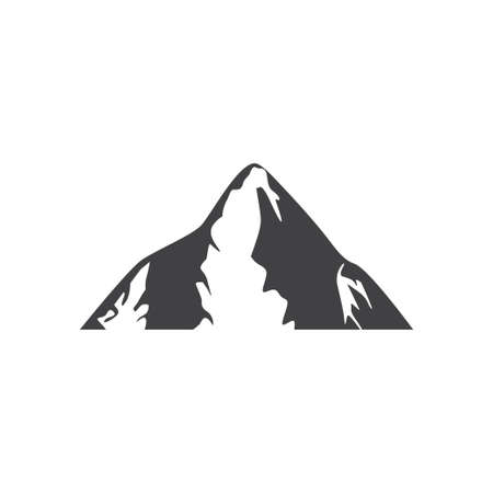 Mountain icon design template vector isolated illustration Zdjęcie Seryjne - 161247507