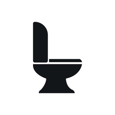 Seat toilet icon design template vector isolated Zdjęcie Seryjne - 161247623