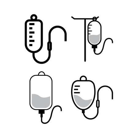 Infusion icon design template vector isolated illustration Vettoriali