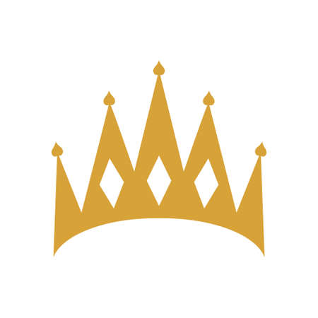 Crown icon design template vector isolated 免版税图像 - 167967538