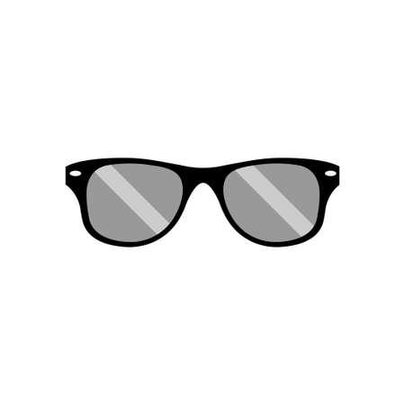 Sunglasses icon design template vector illustration
