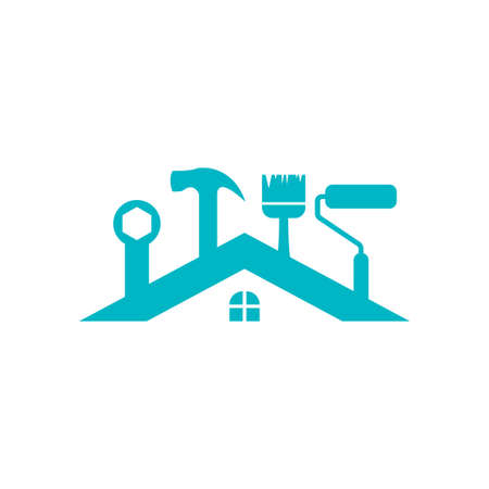 House maintenance icon design template vector illustration Illusztráció