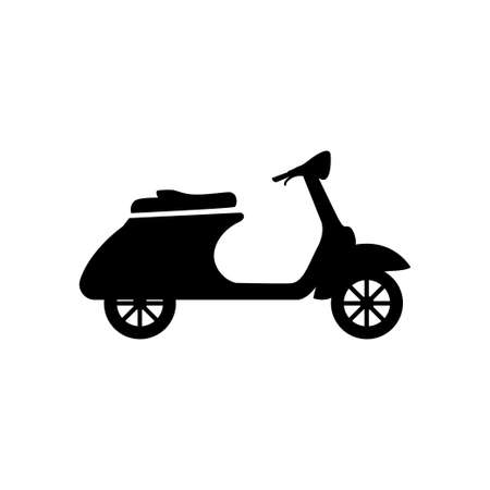 scooter icon design template