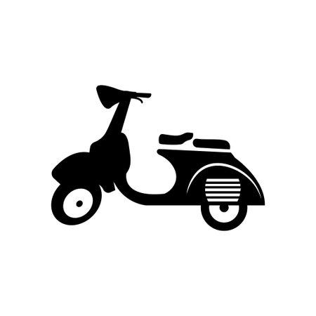 scooter icon design template 免版税图像 - 168078271
