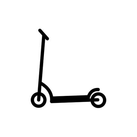 Scooter icon design template vector illustration