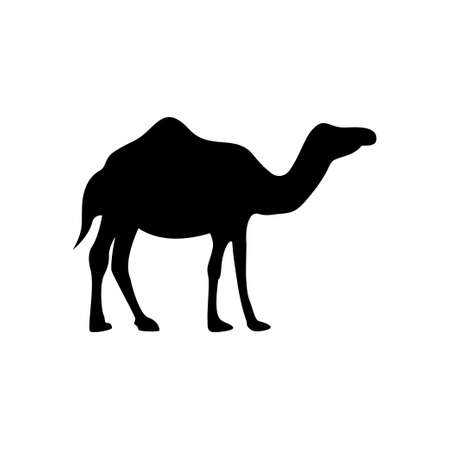 Camel icon design template vector illustration Ilustracja