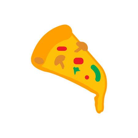 Pizza icon design template vector illustration