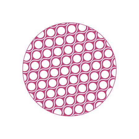 Abstract circle background icon design template