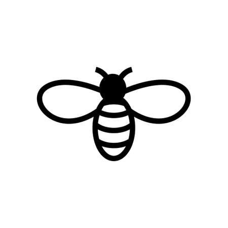 Bee icon design template vector 矢量图像