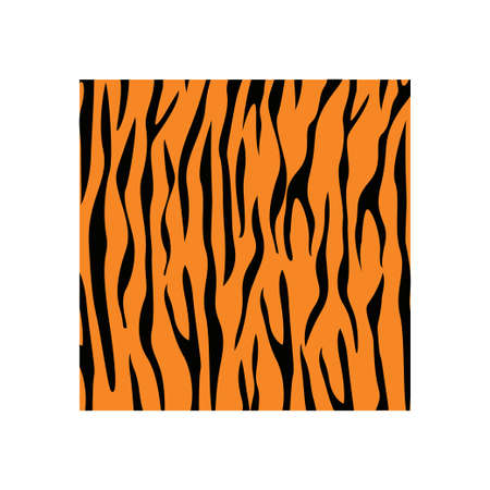 Tiger skin background icon design template vector Ilustracja