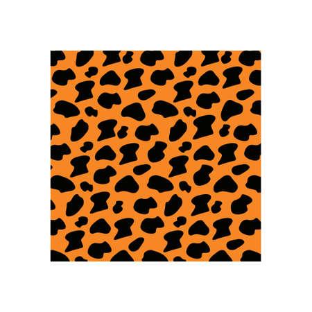 Jaguar skin icon design template vector