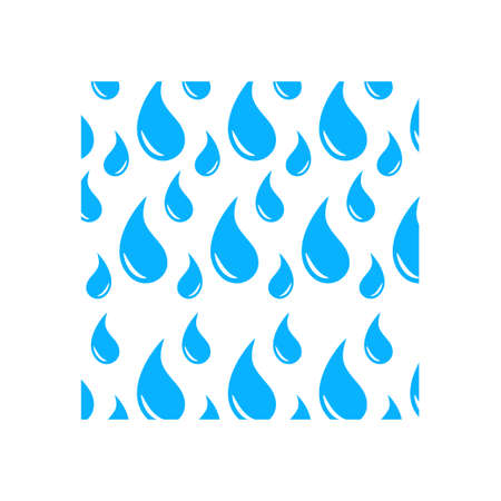 Water droplet background icon design template vector 矢量图像