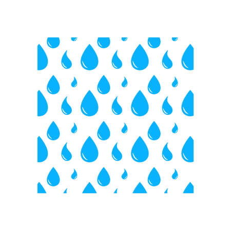 Water drop background icon design template vector