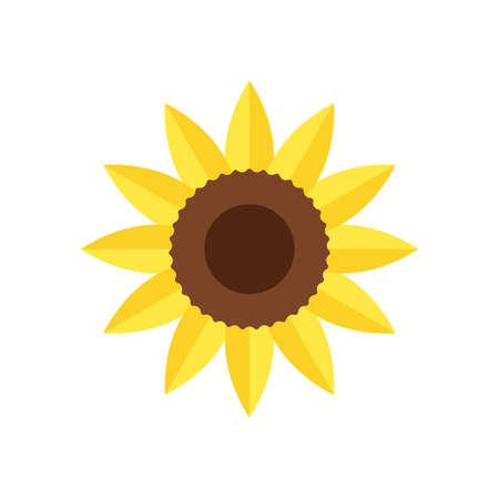 Sunflower icon design template vector 免版税图像 - 167124500